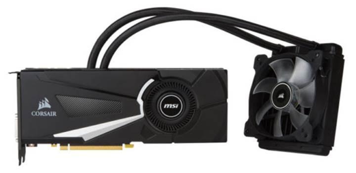 Corsair'den sıvı soğutmalı Hydro GFX GeForce GTX 1080