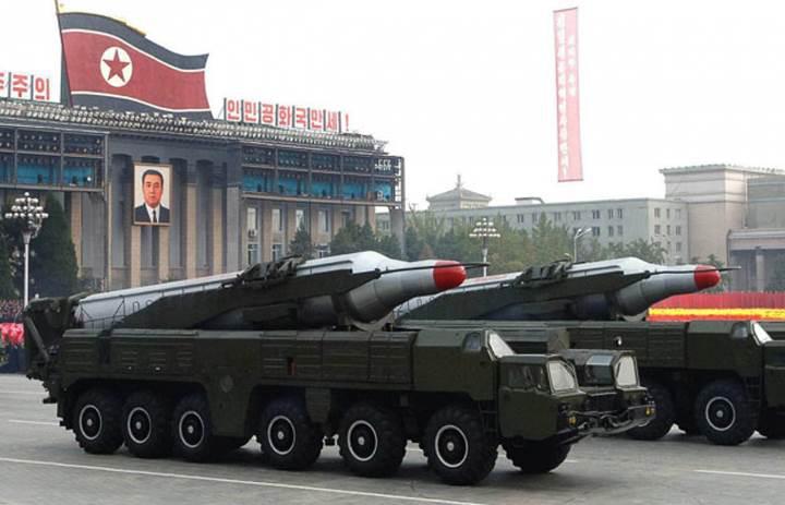 Kuzey Kore'nin füze testi başarısızlıkla sonuçlandı