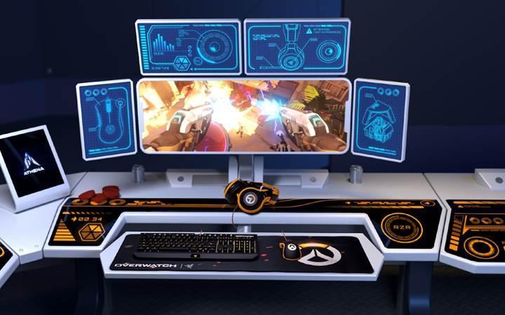 Razer'dan Blizzard'ın yeni oyunu Overwatch için ekipman seti