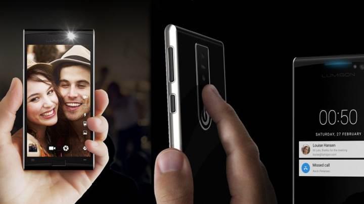 Dünyanın ilk gece görüş kameralı telefonu: Lumigon T3