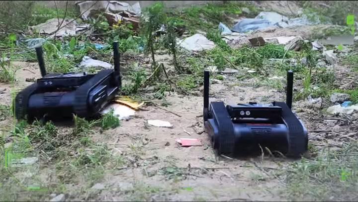Kara muharebe robotu Dogo