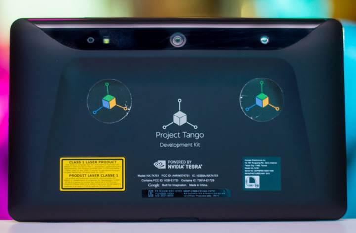 Lenovo'nun Project Tango telefonu 6.4 inç olabilir