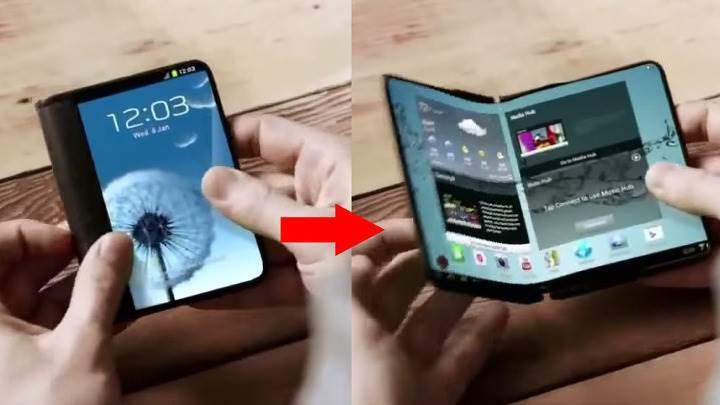 Katlanabilir Samsung telefonları için 2017 iddiası güçleniyor