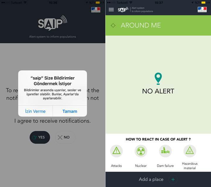 Terör olaylarını önceden haber veren Android ve iOS uygulaması