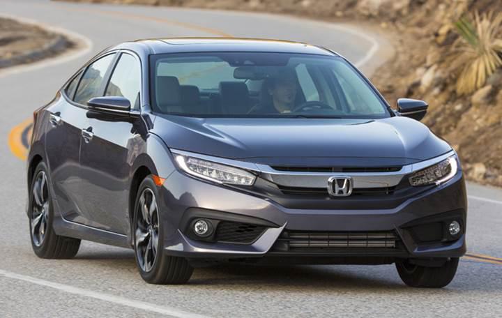 10. nesil Honda Civic Hatchback kamuflajlı haliyle görüntülendi