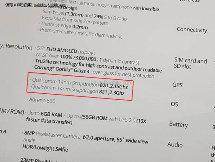 Snapdragon 821 mi 823 mü?