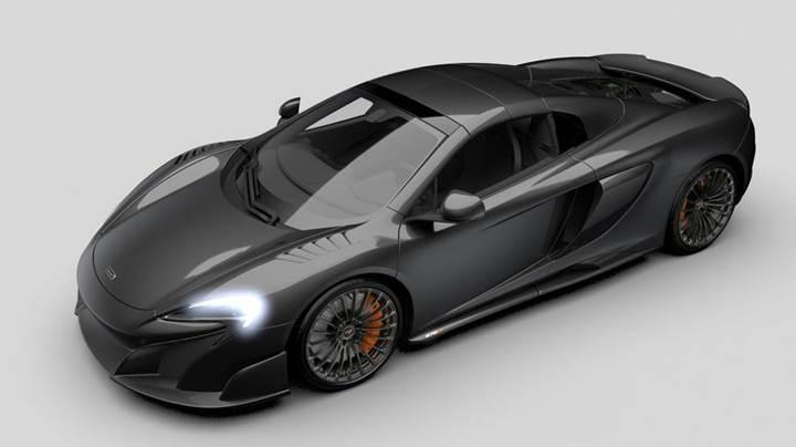 McLaren'den 515 bin dolarlık tamamen karbon süper otomobil: MSO Carbon Series LT