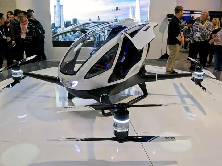 Yolcu taşıyabilen ilk drone bu yıl gökyüzünde olacak