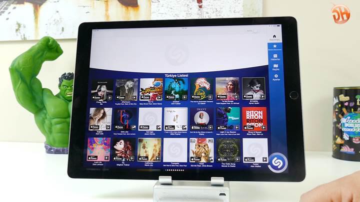 Apple Music Türkçe içerik testi inceleme videosu