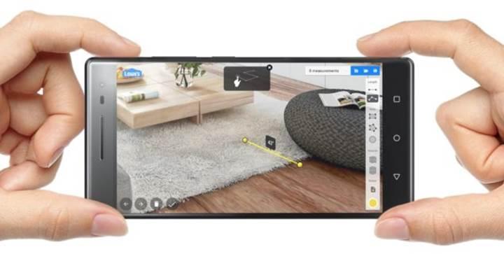 Lenovo Phab2 Pro: Dünyanın ilk Project Tango telefonu