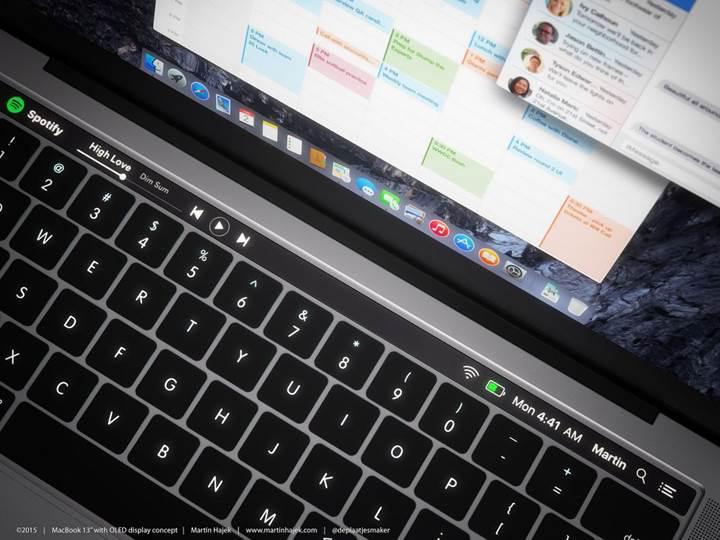 Yeni nesil MacBook'larda yer alması beklenen OLED dokunmatik ekranla tanışın