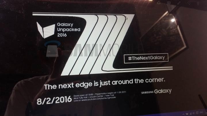 Samsung Galaxy Note 7 için 2 Ağustos işaret ediliyor