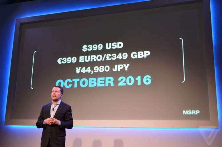 Sony Playstation VR 13 Ekim'de $399'dan satışa sunuluyor