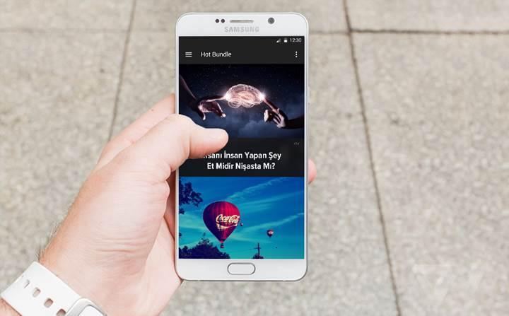 Bundle, Android platformunda da hızla büyüyor