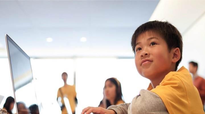 Çocuklar için Apple etkinlik kampı başlıyor
