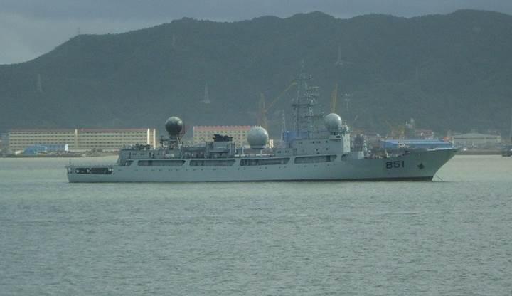 Çin casus gemisi ABD ve müteffiklerini gözetliyor