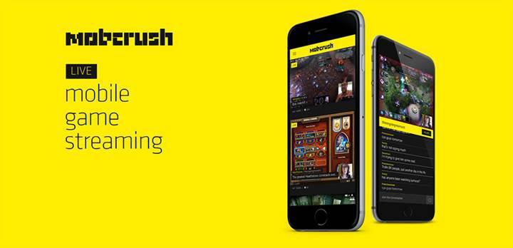 Canlı oyun yayınları platformuna Mobcrush da katıldı