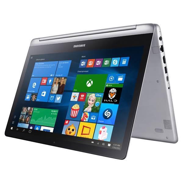 Samsung'un yeni ikisi bir arada dizüstü bilgisayar modeli Notebook 7 Spin ile tanışın