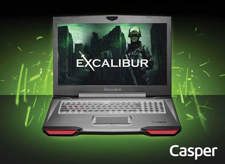 Casper, Excalibur serisi ile oyun bilgisayarı üretmeye hazırlanıyor