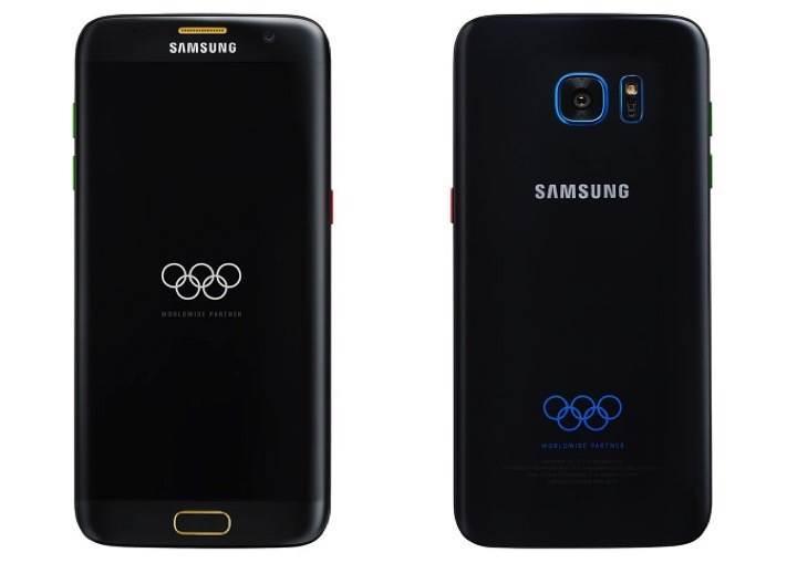 Samsung Galaxy S7 Edge Olympic Edition ortaya çıktı