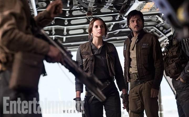 Rogue One: A Star Wars Story'den yeni görüntüler yayınlandı