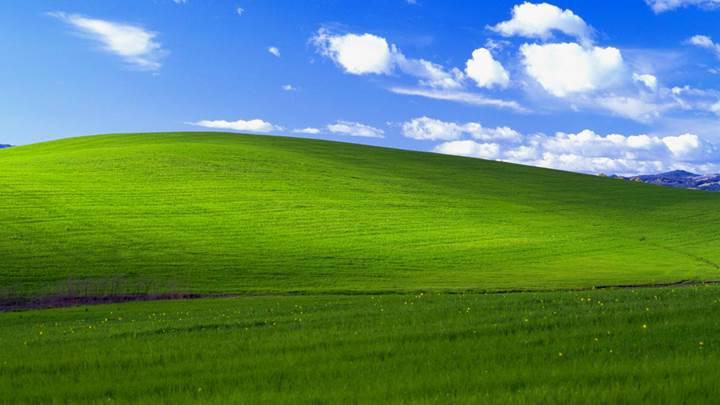 En meşhur Windows duvar kağıdı 20. yılını kutluyor