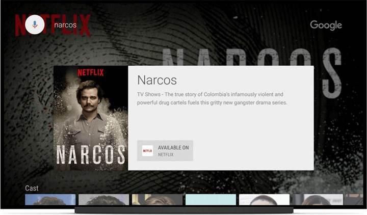 Android TV aramalarında artık Netflix içerikleri de görünecek