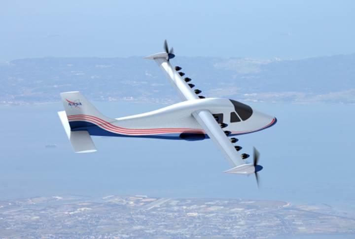 NASA deneysel bir elektrikli uçak üzerinde çalışıyor: X-57
