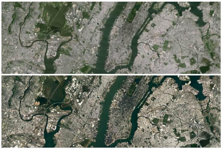 Google harita servislerinin görüntü kalitesi artırılıyor