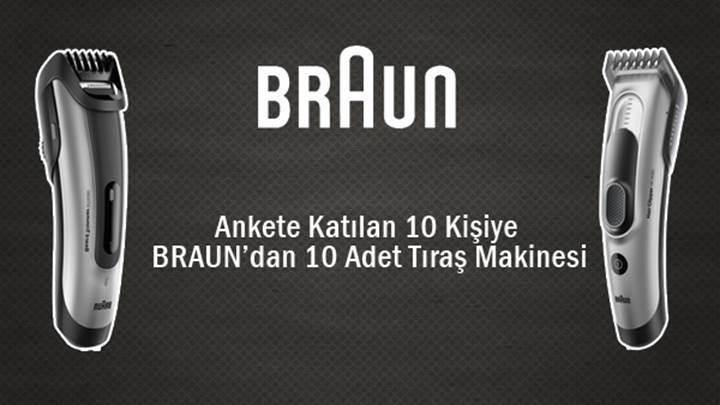 Braun'dan DonanımHaber kullanıcılarına hediye traş makinesi: son 3 gün
