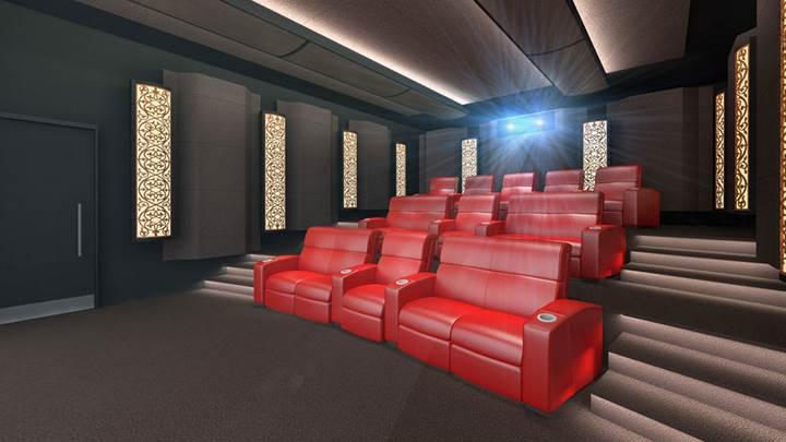 Evinize özel IMAX salonu kurdurmanın bedeli 400 bin dolar