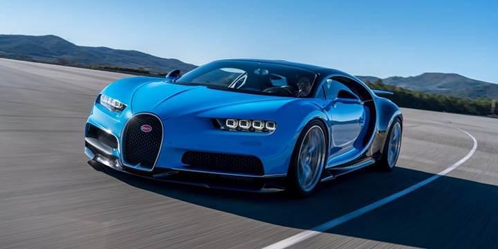 Bugatti, 1500 beygirlik Chiron ile Dünya hız rekoru denemesi yapacağını onayladı