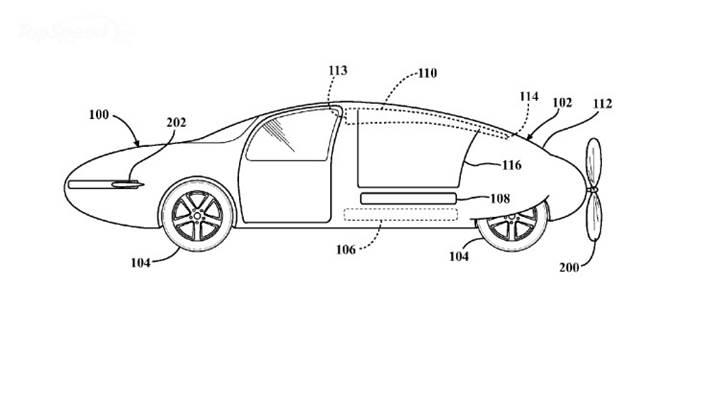 Toyota'dan şekil değiştirebilir uçan otomobil için patent