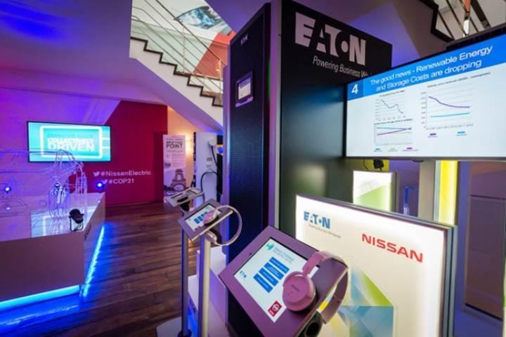 Nissan elektrikli araçlarının pilleri, Fransız veri merkezinde tekrar hayat buluyorlar