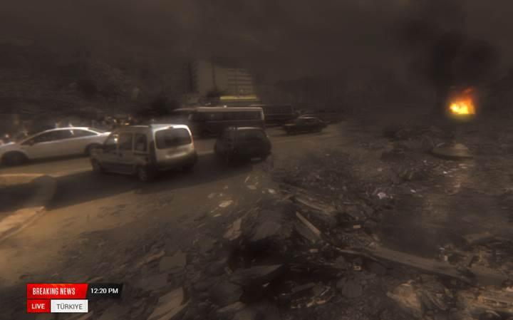 Uzaylılar sokağınıza saldırsaydı nasıl görünürdü?