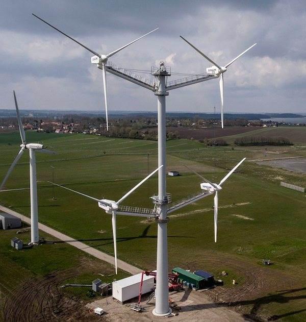 Vestas'tan 12 pervaneli rüzgar türbini!