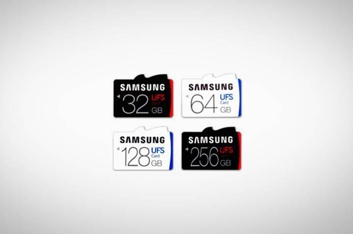 Samsung, ilk UFS standardına sahip hafıza kartını duyurdu