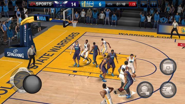 NBA Live Mobile ile finalleri yeniden yaşayın