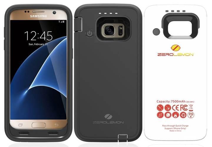 ZeroLemon'dan Galaxy S7 için bataryalı kılıf