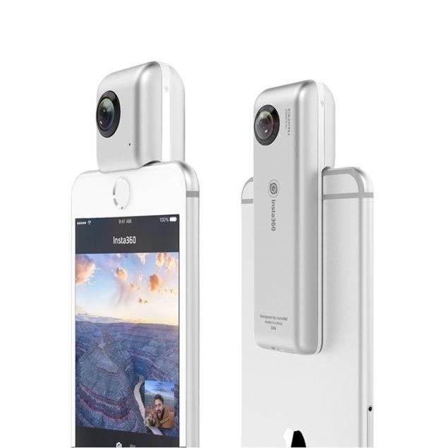 Insta360 Nano ile iPhone'ununuz sanal gerçeklik kamerasına dönüşüyor