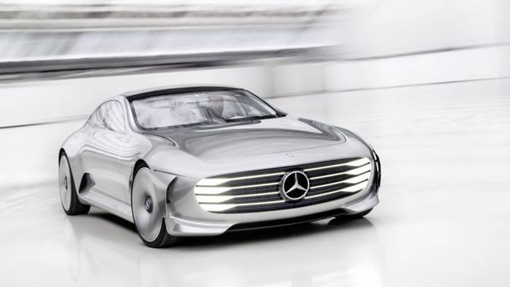 Mercedes-Benz'in elektrikli sedan araç konsepti Eylül ayında tanıtılacak