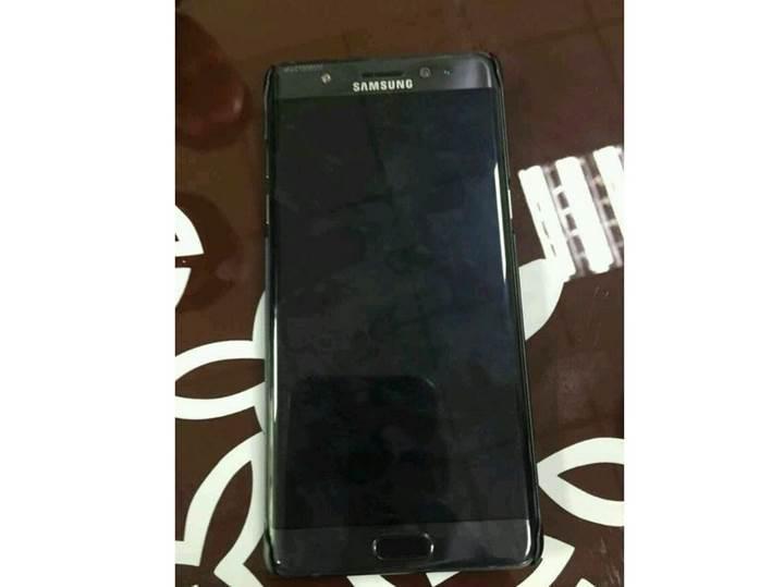 Samsung Galaxy Note 7'nin ilk fotoğrafı sızdı