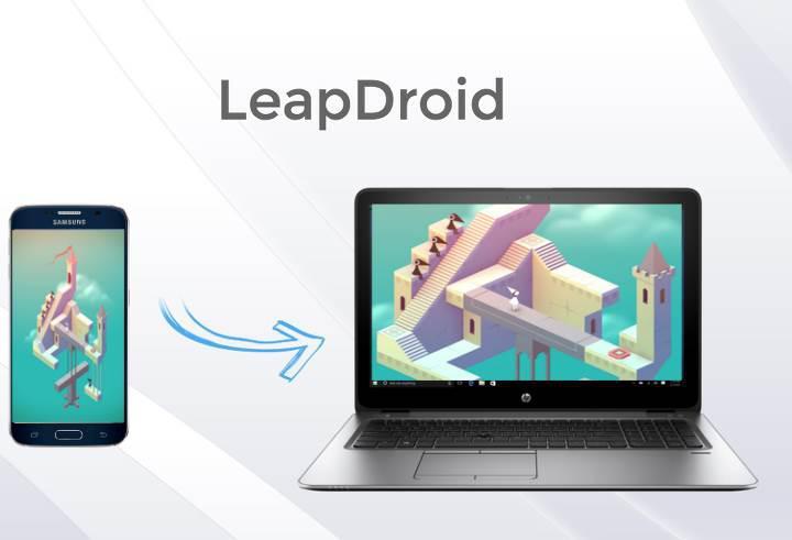 LeapDroid en hızlı Android emülatörü olduğu iddiasında