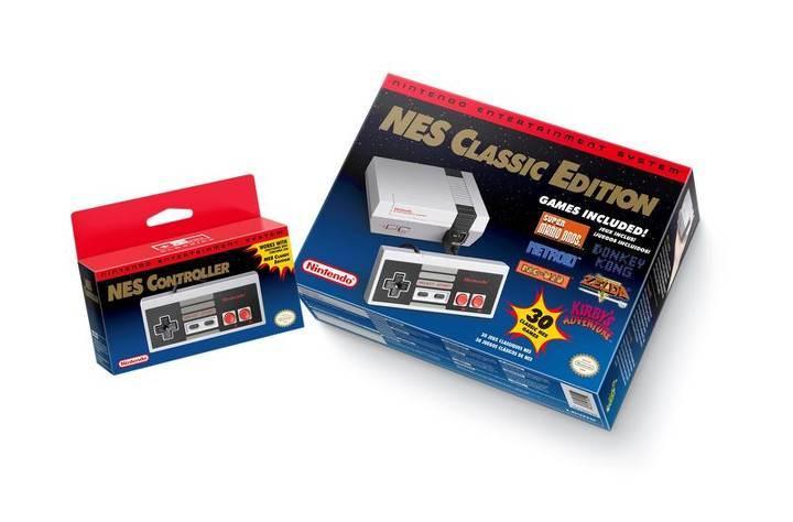 İşte Nintendo'nun yeni konsolu: NES Classic!
