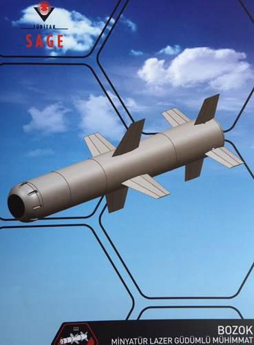 Yerli insansız hava araçları Bozok Füzesi ile uçuşa başlıyor