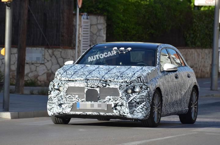 2018 Model Yeni Nesil Mercedes A-Sınıfı kameralara yakalandı