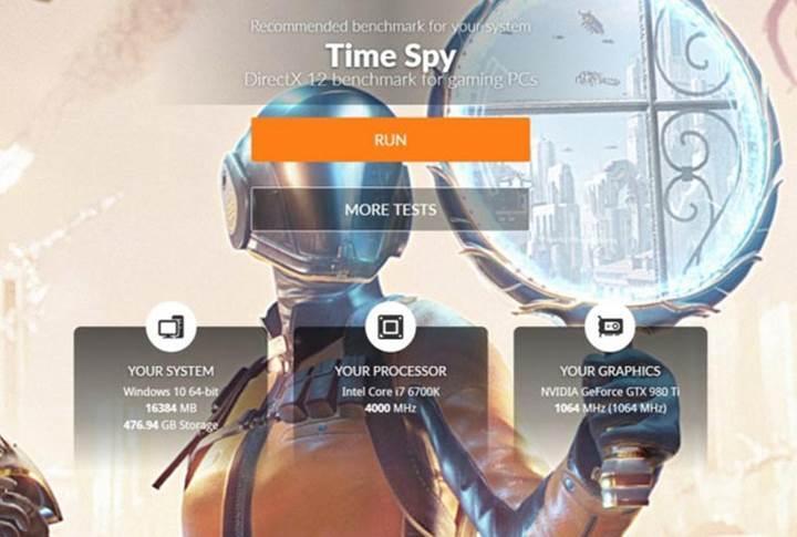 3DMark Time Spy testi satışa sunuldu