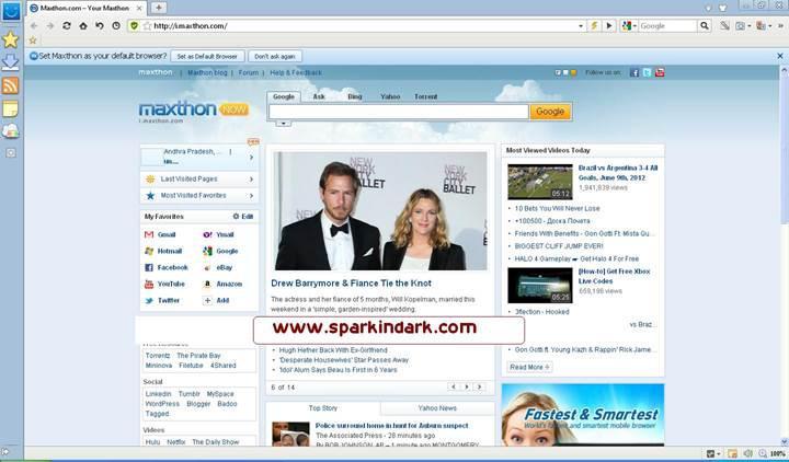 Maxthon internet tarayıcısı kişisel bilgilerinizi topluyor