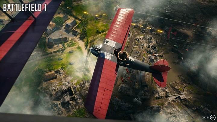 Battlefield 1'in yepyeni ekran görüntüleri yayınlandı