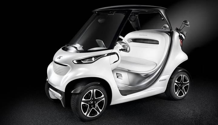 Mercedes'ten spor arabalardan ilham alan yüksek teknolojili golf aracı